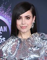 24 November 2019 - Los Angeles, California - Sofia Carson. 2019 American Music Awards - Arrivals held at Microsoft Theater. Photo Credit: Birdie Thompson/AdMedia