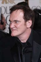 BEVERLY HILLS, CA - JANUARY 13: Quentin Tarantino at the 70th Annual Golden Globe Awards at the Beverly Hills Hilton Hotel in Beverly Hills, California. January 13, 2013. Credit MediaPunch Inc. /NortePhoto