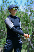 Michelle Wie (USA) watches her tee shot on 2 during round 4 of  the Volunteers of America Texas Shootout Presented by JTBC, at the Las Colinas Country Club in Irving, Texas, USA. 4/30/2017.<br /> Picture: Golffile | Ken Murray<br /> <br /> <br /> All photo usage must carry mandatory copyright credit (&copy; Golffile | Ken Murray)