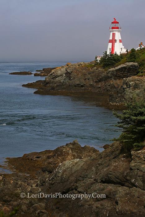East Quoddy Light, Campobello Island, Nova Scotia  #LH32