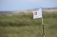 Pinflag during Day 3 / singles of the Boys' Home Internationals played at Royal Dornoch Golf Club, Dornoch, Sutherland, Scotland. 09/08/2018<br /> Picture: Golffile | Phil Inglis<br /> <br /> All photo usage must carry mandatory copyright credit (&copy; Golffile | Phil Inglis)