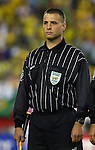 12 September 2007: Assistant Referee Robert Fereday. The Brazil Men's National Team defeated the Mexico Men's National Team 3-1 at Gillette Stadium in Foxborough, Massachusetts in an international friendly.