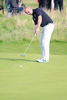 Barry Hume (SCO) during the Home Internationals day 2 foursomes matches supported by Fairstone Financial Management Ltd. at Royal Portrush Golf Club, Portrush, Co.Antrim, Ireland.  13/08/2015.<br /> Picture: Golffile   Fran Caffrey<br /> <br /> <br /> All photo usage must carry mandatory copyright credit (© Golffile   Fran Caffrey)
