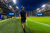 Cooper Vuna of Bath Rugby looks on prior to the match. Heineken Champions Cup match, between Leinster Rugby and Bath Rugby on December 15, 2018 at the Aviva Stadium in Dublin, Republic of Ireland. Photo by: Patrick Khachfe / Onside Images