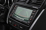 Navigation screen closeup view of a 2011 Mitsubishi Outlander Sport SE