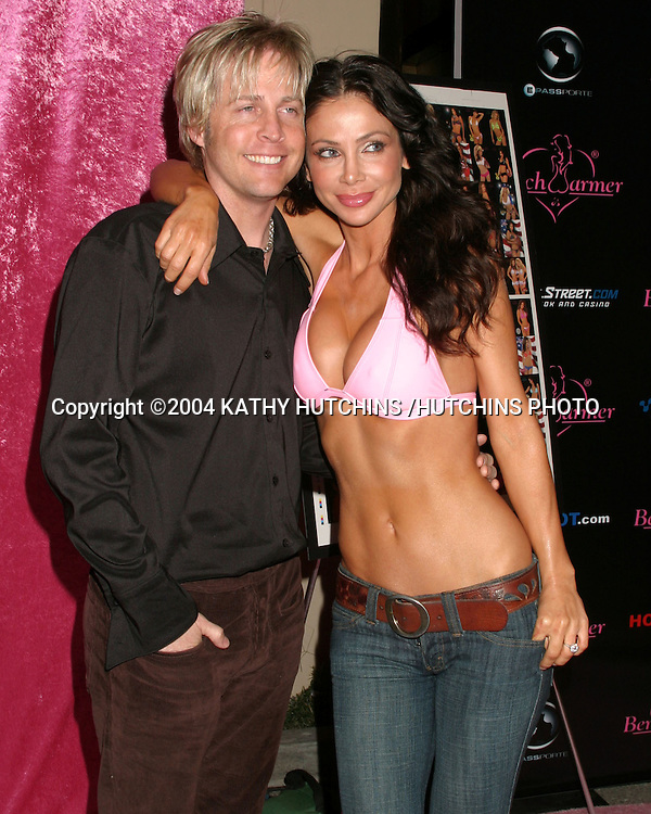 ©2004 KATHY HUTCHINS /HUTCHINS PHOTO.BENCHWARMER PARTY.BLISS.LOS ANGELES, CA.NOVEMBER 20, 2004..MATTHEW NELSON.WIFE YVETTE NELSON