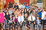 4156-4160.---------.The Big Four O.--------------.Damian Keane(seated Centre)from Farronfour,with his wife Clair partied the night away in the Imperial Hotel Denny St Tralee last Saturday with many family and friends.------------------------------------------------------   Copyright Kerry's Eye 2008