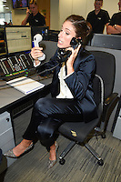 Johanna Konta<br /> on the trading floor for the BGC Charity Day 2016, Canary Wharf, London.<br /> <br /> <br /> &copy;Ash Knotek  D3152  12/09/2016