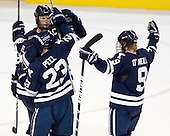 Kevin Peel (Yale - 23), Mark Arcobello (Yale - 26), Ryan Donald (Yale - 25), Brian O'Neill (Yale - 9) - The Boston College Eagles defeated the Yale University Bulldogs 9-7 in the Northeast Regional final on Sunday, March 28, 2010, at the DCU Center in Worcester, Massachusetts.