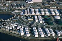 Deutschland, Hamburg, Hafen, Tanklager, Raffinierie, Oel, Benzin, Rethe, Neuhöfer Hafen