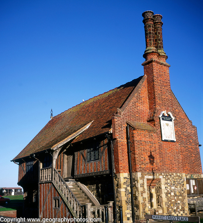 Historic Tudor Moot Hall, Aldeburgh, Suffolk, England