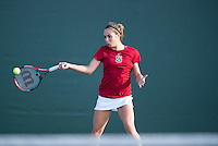 Natalie Dillon of the 2010 Stanford women's Tennis Team.