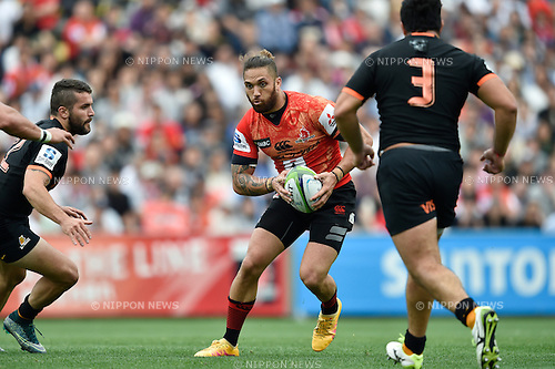 Derek Carpenter (Sunwolves), April 23, 2016 - Rugby : Super Rugby match between Sunwolves 38-26 Jaguares at Prince Chichibu Memorial Stadium in Tokyo, Japan. (Photo by Yuka Shiga/AFLO)