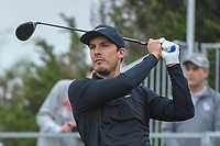 Jamie Lovemark (USA) watches his tee shot on 10 during Round 3 of the Valero Texas Open, AT&amp;T Oaks Course, TPC San Antonio, San Antonio, Texas, USA. 4/21/2018.<br /> Picture: Golffile   Ken Murray<br /> <br /> <br /> All photo usage must carry mandatory copyright credit (&copy; Golffile   Ken Murray)
