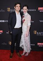 06 January 2018 - Beverly Hills, California - Jason Ralph, Rachel Brosnahan. 2018 BAFTA Tea Party held at The Four Seasons Los Angeles at Beverly Hills in Beverly Hills. <br /> CAP/ADM/BT<br /> &copy;BT/ADM/Capital Pictures