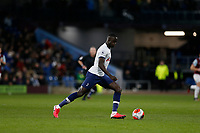 7th March 2020; Turf Moor, Burnley, Lanchashire, England; English Premier League Football, Burnley versus Tottenham Hotspur; Davinson Sanchez of Tottenham Hotspur looks to move the ball forward