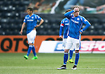 Kilmarnock v St Johnstone&hellip;09.04.16  Rugby Park, Kilmarnock<br />Danny Swanson reacts after conceding the second goal<br />Picture by Graeme Hart.<br />Copyright Perthshire Picture Agency<br />Tel: 01738 623350  Mobile: 07990 594431