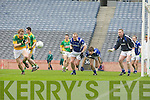 JB Spillane Castlegregory and  Tomas Morley Kiltimagh in the All Ireland Junior Club Championship at Croke park on Sunday February 14 2010...