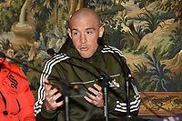 Joe Mullender during a Press Conference at The Gore Hotel on 6th March 2019
