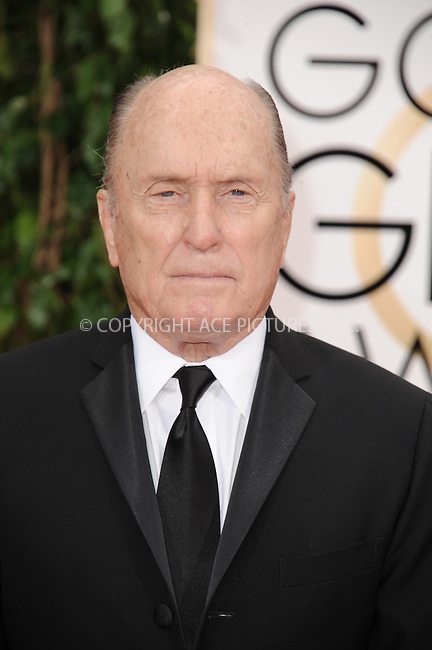 WWW.ACEPIXS.COM<br /> <br /> January 11 2015, LA<br /> <br /> Robert Duvall arriving at the 72nd Annual Golden Globe Awards at The Beverly Hilton Hotel on January 11, 2015 in Beverly Hills, California.<br /> <br /> <br /> By Line: Peter West/ACE Pictures<br /> <br /> <br /> ACE Pictures, Inc.<br /> tel: 646 769 0430<br /> Email: info@acepixs.com<br /> www.acepixs.com