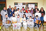 Two Mile School residents who went on the biddy on Sunday to help funds for the local national school front row l-r: Tim McKenna Principal, Finola Long, Eamon Long, Noreen Doherty, Aaron Duggan, Deane O'Sullivan. Middle row: Dermot Clifford, Anita Scott, Mary McCarthy, Laura O'Sullivan, Rachel O'Doherty, Maeve Leane, Cian O'Sullivan, Jonathan Falvey. Back row: Donal O'Sullivan, Michael Duggan, Mary Falvey, Hilda Weldon, Denis Carroll, Ann Marie Leane and Sheila O'Donoghue