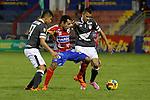 Pasto- Santa Fe venció 2 goles por 1 a Deportivo Pasto en el partido correspondiente a la fecha 14 del Torneo Clausura 2014, desarrollado el 11 de octubre en el estadio Libertad.