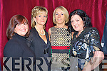 Enjoying the gala fashion show in aid of the CYMS development fund on Thursday night were Edel Murphy, Catherine O'Riordan McGrath, geraldine O'Sullivan and Orna Eccles.