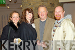 Monica Reidy, Cathy Williams, Ken Fitzgerald and Cormac Kane  pictured at the Kery film festival at Siamsa Tire on Saturday Night.