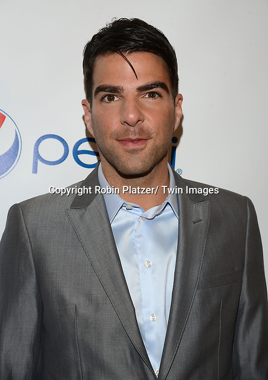 Zachary Quinto attends the 80th Annual Drama League Awards Ceremony and Luncheon on May 16, 2014 at the Marriot Marquis Hotel in New York City, New York, USA.