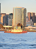 Stock photo of San Diego Stock Photo of San Diego Stock photo of Tug Boat