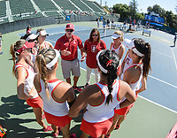 Stanford, Ca - Saturday, May 11, 2018: Stanford 4-0 over Michigan during the NCAA Regionals.