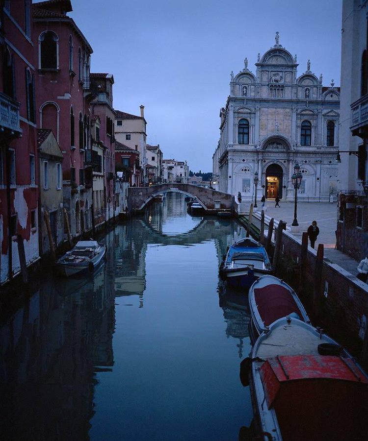 Venice, Italy by night