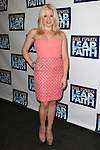 Megan Hilty.attending the Broadway Opening Night Performance of 'LEAP OF FAITH' on 4/26/2012 at the St. James Theatre in New York City. © Walter McBride/WM Photography .