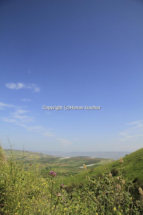 Israel, Yavne'el valley in the Lower Galilee