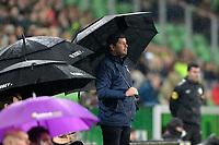 GRONINGEN - Voetbal, FC Groningen - Willem II,  Eredivisie , Noordlease stadion, seizoen 2017-2018, 20-10-2017,   Willem II trainer Erwin van de Looi