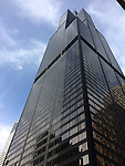 Chicago, Illinois, United States of America / USA; December 28, 2016 -- Willis Tower (formerly Sears Tower, after construction highest building in the world with 110 floors) -- Photo: © HorstWagner.eu