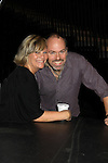 One Life To Live and ex GL Kim Zimmer and Adam Reist (GL Stage manager) at the Soapstar Spectacular starring actors from OLTL, Y&R, B&B and ex ATWT & GL on November 20, 2010 at the Myrtle Beach Convention Center, Myrtle Beach, South Carolina. (Photo by Sue Coflin/Max Photos)
