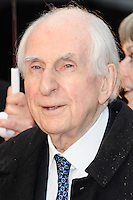 "Michael Bond arriving for the ""Paddington"" world premiere at the Odeon Leicester Square, London. 23/11/2014 Picture by: Steve Vas / Featureflash"