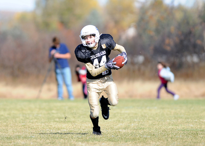 24 October 2009: during a postseason playoff game between youth Air Force Falcons and Colorado Buffaloes. The Buffaloes won the game.  *****For Editorial Use Only*****