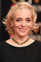 Amanda Abbington arrives for the Olivier Awards 2015 at the Royal Opera House Covent Garden, London. 12/04/2015 Picture by: Steve Vas / Featureflash