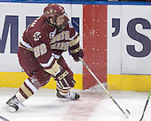 Dan Bertram - The Boston College Eagles defeated the University of North Dakota Fighting Sioux 6-5 on Thursday, April 6, 2006, in the 2006 Frozen Four afternoon Semi-Final at the Bradley Center in Milwaukee, Wisconsin.