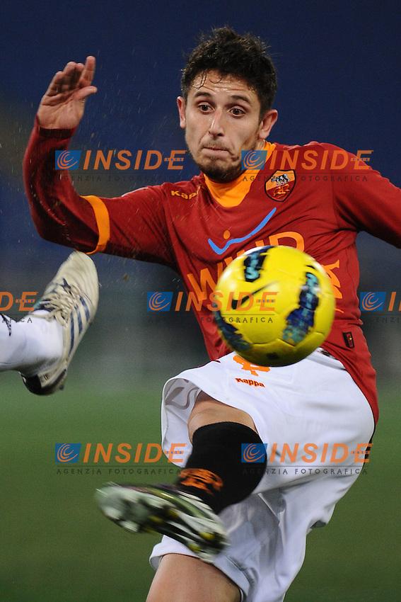 Leandro Greco (Roma).Roma, 21/01/2012 Stadio Olimpico.Football Calcio 2011/2012 .Roma vs Cesena.Campionato di calcio Serie A.Foto Insidefoto Antonietta Baldassarre