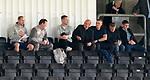 26.08.2019 Rangers Colts v Partick Thistle:  Jordan Milsom, Craig Mulholland, Michael Beale, Gary McAllister, Tom Culshaw, Mark Allen and Steven Gerrard