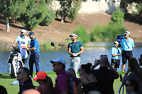 Joost Luiten (NED) on the 18th during the 3rd round of the DP World Tour Championship, Jumeirah Golf Estates, Dubai, United Arab Emirates. 23/11/2019<br /> Picture: Golffile | Phil Inglis<br /> <br /> <br /> All photo usage must carry mandatory copyright credit (© Golffile | Phil Inglis)
