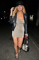 Danielle Sellers at the In The Style TOTES OVER IT Valentine's Party, Libertine, Winsley Street, London, England, UK, on Thursday 08 February 2018.<br /> CAP/CAN<br /> &copy;CAN/Capital Pictures