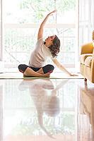 2020 06 16 Yoga woman, Athens, Greece