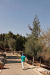 Israel, Goldman promenade in Jerusalem