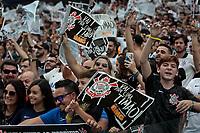 SÃO PAULO, SP 21.04.2019: CORINTHIANS-SÃO PAULO - Torcida. Corinthians e São Paulo durante o jogo de volta, válido pela final do Campeonato Paulista na Arena Corinthians, zona leste da capital, na tarde deste domingo (21). (Foto: Ale Frata/Codigo19)