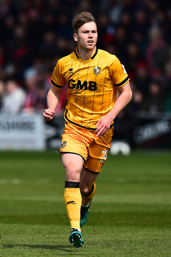 Port Vale's Billy Reeves in action<br /> <br /> Photographer Richard Martin-Roberts/CameraSport<br /> <br /> The EFL Sky Bet League One - Fleetwood Town v Port Vale - Sunday 30th April 2017 - Highbury Stadium - Fleetwood<br /> <br /> World Copyright &copy; 2017 CameraSport. All rights reserved. 43 Linden Ave. Countesthorpe. Leicester. England. LE8 5PG - Tel: +44 (0) 116 277 4147 - admin@camerasport.com - www.camerasport.com