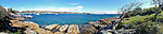 Panoramic view of Watsons Bay, Sydney Harbour, NSW, Australia.